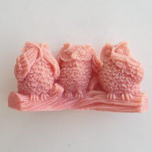 Růžová mýdla